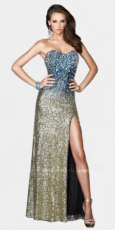GLAMOUR EVENING DRESSES
