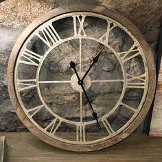 | Round Cut-Out Clock  - 1