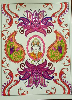 Creative Haven Mehndi Designs Collection Coloring Book By: Dover, Marty Noble Coloring Books, Coloring Pages, Colouring, Family Crafts, Gold Embroidery, Gel Pens, Mehndi Designs, Markers, Creative
