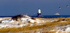 Enjoy a cozy winter getaway in Delaware.
