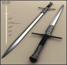 a3b566772769190338d70633c81687f4--cool-swords-bastard-sword.jpg (736×710)