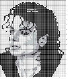 Beaded Cross Stitch, Crochet Cross, Crochet Chart, Cross Stitch Embroidery, Loom Patterns, Beading Patterns, Cross Stitch Designs, Cross Stitch Patterns, Cross Stitch Silhouette