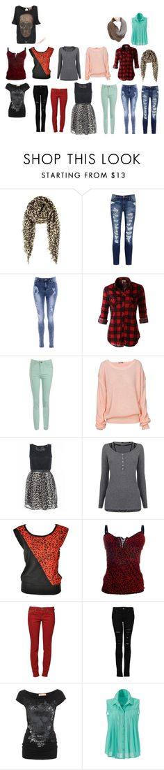 """""""my style"""" by izze93 on Polyvore featuring Chan Luu, Current/Elliott, Glamorous, LE3NO, Jane Norman, Quiz, Maison Scotch, True Religion, MANGO and Nine West"""