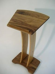 Custom Made Contemporary Podium / Book Stand Music Stand / Pulpit