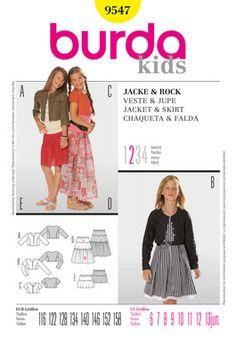 Simplicity Creative Group - Burda Style, Jacket & Skirt