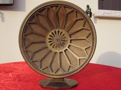 1x GRAWOR BERLIN AMATI EARLY 1920's ~ AMPLION ERA HORN SPEAKER BRASS FOR RADIO