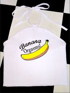 SWEET LORD O'MIGHTY! BANANA ORGASMS HALTER