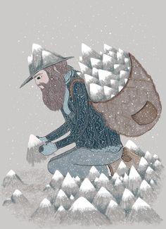 A true mountain man.