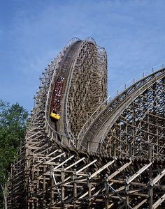 The Beast claimed as the most thrilling Wooden Roller Coasters at the King Island