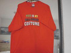 T-Shirt Halloween Costume Unisex Size XL 100% Cotton Short Sleeves #Gildan #ShortSleeve