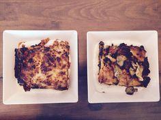 Lasaña de carne VS lasaña de verdura