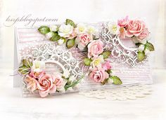 Wild Orchid Crafts: A shabby chic card