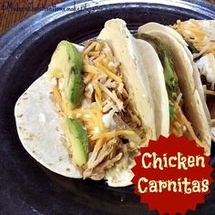 Chicken Carnitas