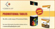 Promotional Tables