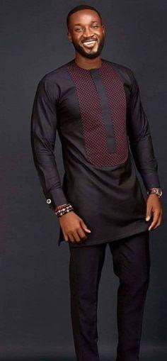 African men's clothing / wedding suit/dashiki / African men's shirt/ vêtement africain/ chemise et pantalon/African attire/prom dress - African men's clothing / wedding suit/dashiki / African African Male Suits, African Shirts For Men, African Dresses Men, African Attire For Men, African Clothing For Men, African Wear, Traditional African Clothing, African Wedding Attire, Nigerian Men Fashion