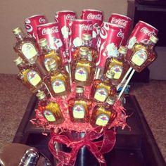 """Bottles of Liquor"""" Bouquet   Yummy"""