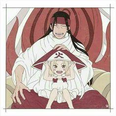 Hashirama and young Tsunade