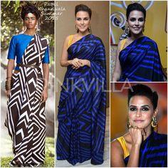 Bollywood Outfits, Pakistani Outfits, Indian Outfits, Latest Saree Blouse, Saree Blouse Designs, Sari Blouse, Ethnic Fashion, Indian Fashion, Elegant Saree