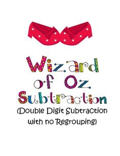 Double digit subtraction (no regrouping): cards and worksheets