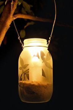 How to Make Garden Lanterns- keep this in mind for next summer!