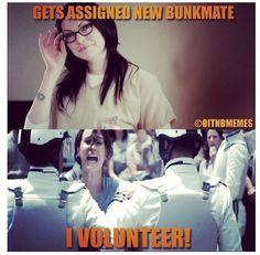 I would volunteer!