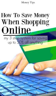 Ever wonder how the online shopping guru's can save so much money? They follow a simple 3 step system to ensure they are saving the most money sometimes up to 50% off and you can too!   Money Saving Tips   Budgeting   Frugal Living Tips   Online Shopping   Coupons