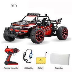 Kedior 1:18 RC Car 4WD Drift Highspeed Remote Control Cars Racing Model Toys VS WL TOYS A959