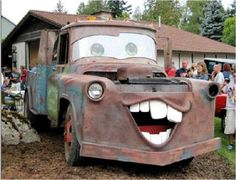 3rd Annual Touch-A-Truck Event: Tow Mater -someone beat me to it.
