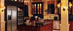 hugu kitchens with industrial refrigerator | Ge Profile Kitchen