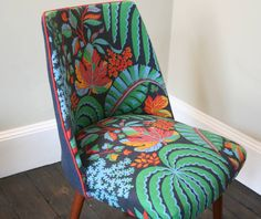 1940's Occasional Rainforest Chair