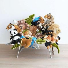 Funny Friday 37... this comical toy animal chair looks cute AND comfortable!