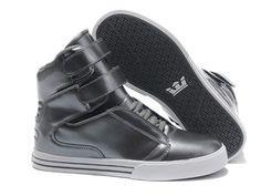 Justin Bieber Supra TK Society Dark Grey Pattern Leather