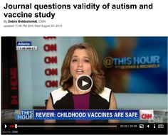 CNN waited patiently to publish this 'story' about why vaccines don't cause autism. The CDC and CNN share the same home. They traditionaly dovetail in their messaging. Shoud we surprised that they are in collusion with the CDC autism-vaccine coverup?