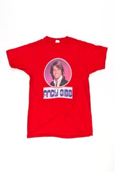 I know it's wrong but I want this Andy Gibb shirt more than anything... I'd rock it!