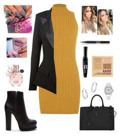 """""""Untitled #159"""" by leah93-1 ❤ liked on Polyvore featuring WearAll, Alexandre Vauthier, Forever 21, Yves Saint Laurent, Stila, Bourjois, NYX, Viktor & Rolf, Rolex and Bloomingdale's"""