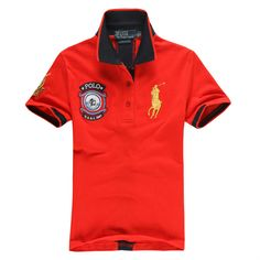 Ralph Lauren Men's US 1967 Short Sleeve Polo Shirt Red http://www.hxzyedu.cn/?blog=ralph+lauren+polo+outlet