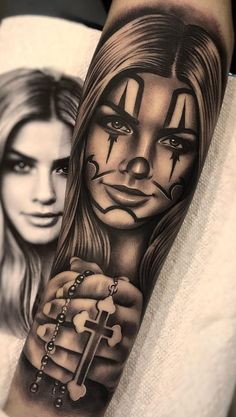 Top tattoo designs in the world: Tattoo designs .- Desenhos para tattoo e tatuagem mais top do mundo : Desenhos para tatoo,as tatua… Top tattoo designs and tattoo designs in the world: Tattoo designs, the world& most sealed tattoos … - Full Hand Tattoo, Chicanas Tattoo, Skull Girl Tattoo, Girl Face Tattoo, Clown Tattoo, Forarm Tattoos, Hand Tattoos For Guys, Top Tattoos, Tattoos For Women