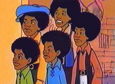 The Jackson morning cartoon ? Saturday Morning Cartoons from the =) . 70s Cartoons, Good Cartoons, Looney Tunes Cartoons, Classic Cartoons, Cartoon Photo, Cartoon Tv, Cartoon Characters, Jackson 5, Michael Jackson
