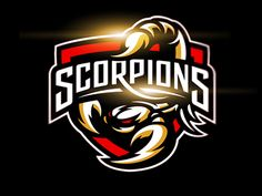 Adhl scorpions logo full dribbble preview More
