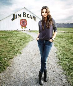 Mila Kunis was announced Wednesday, Jan. 29 as the new face of Jim Beam. Genius celeb endorsement. I squealed