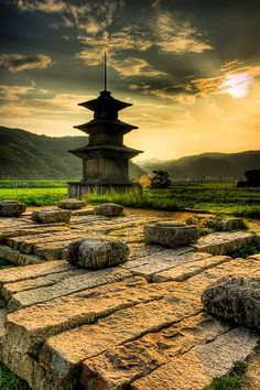 Ruins Located Near Gyeongju, in Ulsan, South Korea Places Around The World, Oh The Places You'll Go, Places To Travel, Places To Visit, Around The Worlds, Ulsan, Beautiful World, Beautiful Places, Republik Korea