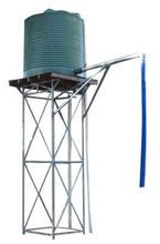 Earth Rings, Tank Stand, Water Storage Tanks, Water Solutions, Water Tower, Stand Design, Water Tank, Irrigation, Bird Houses