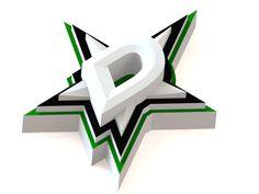 Dallas Stars ice hockey team logo. #icehockey #logo #3Dmodel #DallasStars #NHL