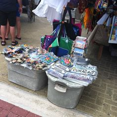 Street #Market #Indigenous #Sale #Shop #Harbor #Souvenirs #Curacao Caribbean, Street, Handmade, Shopping, Craft, Walkway, Arm Work, Hand Made