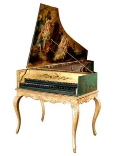 Ornate Harpsichord
