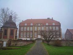 Schloss Wilkinghege im Münsterland.