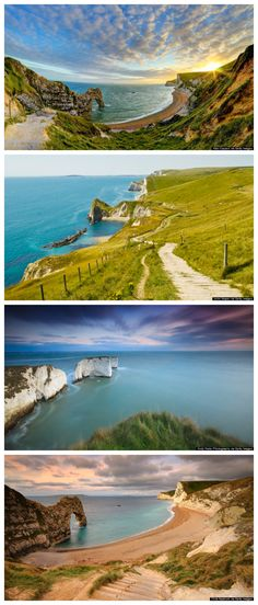 The gorgeous Jurassic Coast in England
