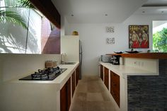 #Dapur diruangan semi terbuka