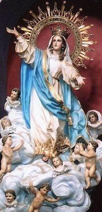 La Asunción de La Virgen María a los Cielos