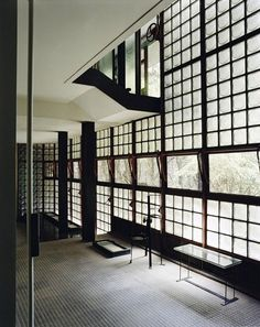 "Pierre Chareau, Maison de Verre interior, 1928–32, Paris. Image © Mark Lyon. From the 2016 Organizational Grant to The Jewish Museum for ""Pierre Chareau: Modern Architecture and Design."""